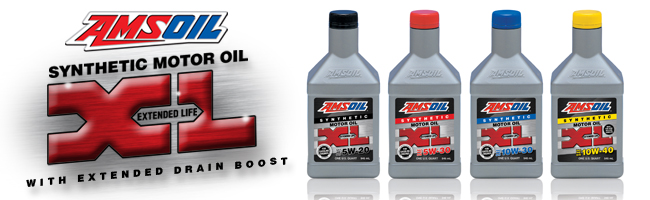 Amsoil XL 10 thousand mile or 6 month oild change synthetic oil